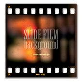 Slide film background — ストックベクタ