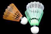 Badminton-shuttles — Stockfoto