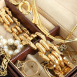 Stock Photo: jewelry box