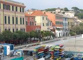 Celle Ligure - seafront — 图库照片