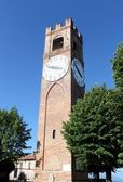 Belvedere tower in Mondovì. Italy — Stock Photo