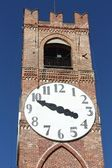 Belvedere tower in Mondovì. Italy — Stock Photo