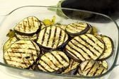 Grilled eggplant — Stock Photo