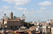 View of Rome from the Palatine Hill — Stock Photo
