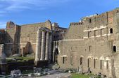 The Imperial Fora in Rome — 图库照片