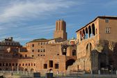 The Imperial Fora in Rome — Стоковое фото