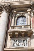 Balcony of St. Peter's Basilica — Foto de Stock