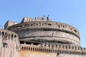 Castel Sant'Angelo (Mausoleum of Hadrian) in Rome — Stock fotografie