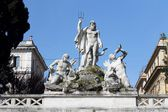 Fontana del Nettuno in Rom — Stockfoto