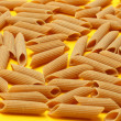 Whole wheat pasta — 图库照片