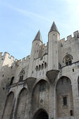 Palace of the popes (Palais des Papes) in Avignon — Stockfoto