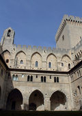 Palace of the popes (Palais des Papes) in Avignon — Stock Photo