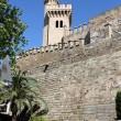 Palma de Mallorca, the royal palace of Almudaina — Stock Photo