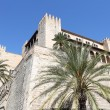 Palma de Mallorca, the royal palace of Almudaina — Stock Photo