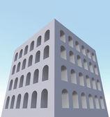 体系结构建筑外窗 — 图库照片