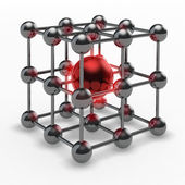 Atom symbol — Stock Photo