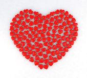 Heart by heart — Stock Photo