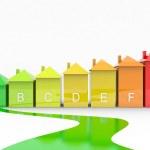 Energy efficiency, the green way — Stock Photo