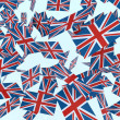 English flags - Stock Photo