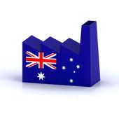 オーストラリアの工場概念 — ストック写真