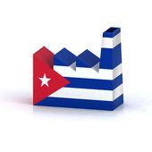 Cuban factory concept — Stock Photo