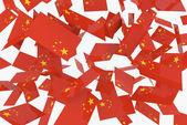 Banderas chinas — Foto de Stock