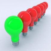 Ampoules colorées — Photo