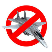 İçki yasağı yol işareti uçak savaş — Stok fotoğraf