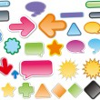 Vector icons — Stock Vector #25750397