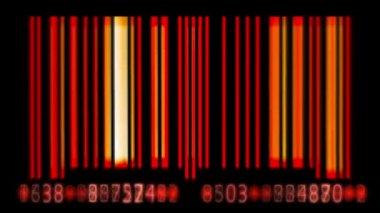 Bar Code — Stock Video