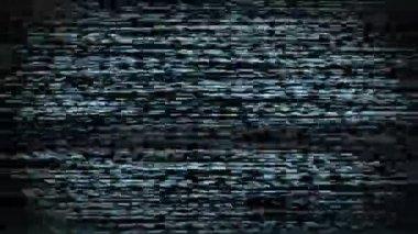 Ruido de la tv — Vídeo de stock