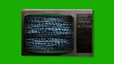 テレビのノイズ — ストックビデオ
