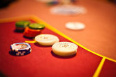 Las Vegas Poker detail — Stock Photo
