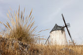 Windmill in La Mancha, Spain — Stock Photo