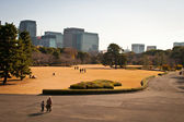 Imperial Palace Garden Park, Tokyo — Stock Photo