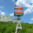 Stock Photo: Cable-way to Ai-petri