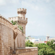 Tower of Almudaina Palace — Stock Photo