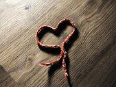 Wool heart — Stock Photo