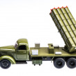 Stock Photo: Multiple rocket launcher 13, 1958-1991, ЗИЛ-157