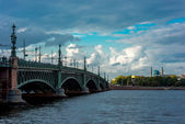 Trinity Bridge. St. Petersburg. — Stock Photo