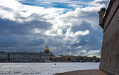 View from Rabbit Island at the Winter Palace — Stock Photo