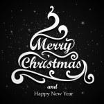Merry Christmas Type — Stock Vector #15886435