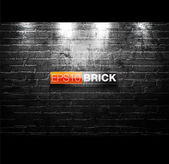 Brick- Wall Illustration — Stockvector