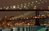 Brooklyn bridge, new york city — Stock Photo