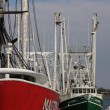 Stock Photo: Fishing boat marina