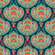 Royalty-Free Stock Vector Image: Oriental paisley seamless pattern