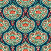Oriental paisley seamless pattern — Stock Vector