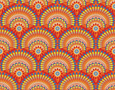 Ethnic wallpaper pattern — Stock Vector