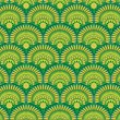 Ethnic wallpaper pattern — Stock vektor