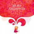 Royalty-Free Stock Vector Image: Be my Valentine